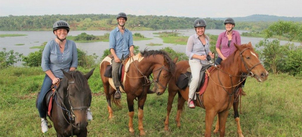 Horse Riding at the Nile