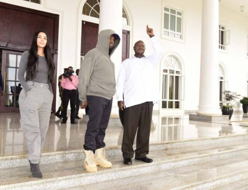 Kanye & Kim stunned by Uganda's wildlife and nature